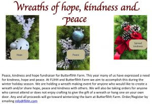 Spread kindness, hope and peace